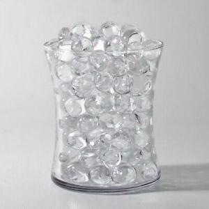 Transparent Glass Half Sphere Ball Vase Bowl Decoration Many Sizes