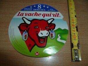 ETIQUETTE FROMAGE VACHE QUI RIT   IVO 835 E43