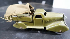 Wyandotte Pressed Steel Canvas Back Army Transport Truck