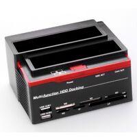 USB 2.0 to SATA IDE Hard Drive Docking Station for 2.5''/3.5'' HDD IDE SSD SATA