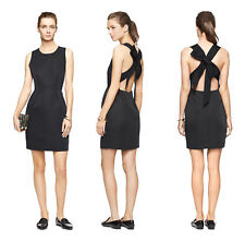 Kate Spade Open Bow Back Party Dress Black, Size 6 New $448. Cocktail/Black tie