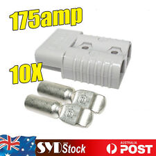10PCS 175Amp Plugs Terminals Caravan Van Winch Battery Quick Power Connectors