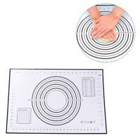 60*40cm Silicone Dough Rolling Mat Baking Pastry Clay Pad Sheet Liner Non-Stick