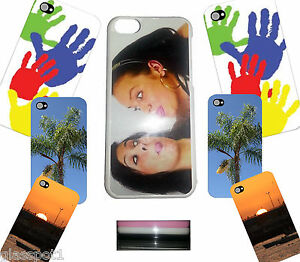 PERSONALISED CUSTOM PHOTO & TEXT PRINTED Phone Case Cover fits iPhone 5C