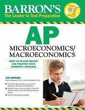 Barron's AP Microeconomics/Macroeconomics, 4th Edition Musgrave Ph.D., Frank, K