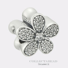 Authentic Pandora Sterling Silver Dazzling Daisy CZ Bead 791480CZ