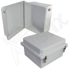 Altelix 14x12x8 Fiberglass NEMA 4X Outdoor Weatherproof Equipment Enclosure