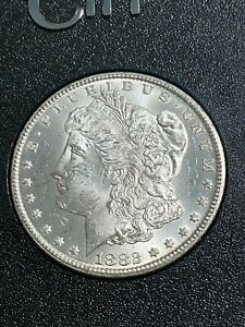 1882-CC US Morgan Dollar in GSA Holder Graded MS63 by NGC!! CAC!!