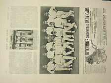 1898 PRINT ~ NASSAU HOUSE BATH ~ YORKSHIRE ELEVEN CRICKET CHAMPIONS NAMED