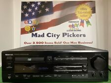 Toshiba SD-6109CU DVD CD Player & 5.1 FM AM Integrated Receiver DTS Decode Works