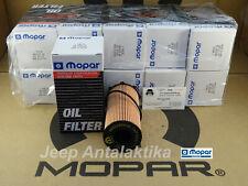 Engine Oil Filter Jeep Wrangler JK 07-18 2.8TD 68032204AB New Genuine Mopar X10