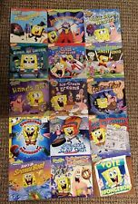 Lot 15 SPONGEBOB SQUAREPANTS Children's Square Picture Story Books NICKELODEON