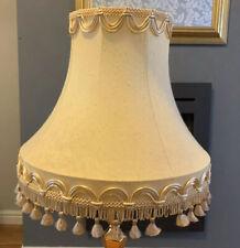 VINTAGE LAMPSHADE TASSLED