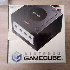Nintendo GameCube in Schwarz mit Originalverpackung