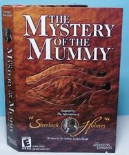 PC Mystery Adventure Sherlock Holmes Mystery of the Mummy Small Box Version