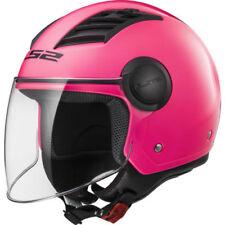 Caschi rosa con visiera parasole per la guida di veicoli taglia XS