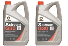 Brand New 2 x Comma  Xstream  G30  Antifreeze & Coolant  Ready Mixed - 10 Litres