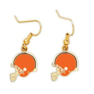 NFL CLEVELAND BROWNS EARRINGS DANGLE NEW