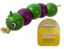 Rosewood BOREDOM BREAKER Woodies Caterpillar Toy - Rabbit Guinea Pig Chinchilla