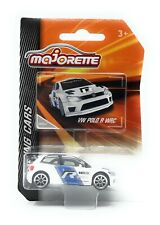 Majorette Racing Serie VW Volkswagen Polo R WRC white 1/57 Model Car metal