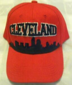CLEVELAND SKYLINE BASEBALL HAT