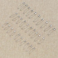 100 Pcs Stainless Steel Curved Safety Pins for Basting Quilt Patchwork Craft