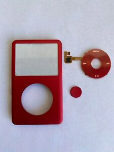 Red Face Plate Clickwheel Button For Apple iPod Classic 6th 7th Gen Replacement
