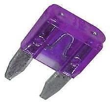 5 x Mini Blade Fuses 3A 3 Amp (11mm x 15mm) o/e spec fits ALFA ROMEO