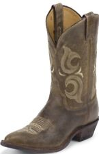 Men's Justin BR211 Bent Rail Cafe Desperado Western Cowboy Boots 10 D