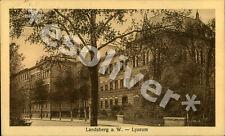 Landsberg Warthe Gorzów Wielkopolski Lyzeum