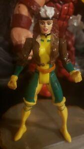 1990s Pre Marvel Legends Toybiz Xmen Blue Team Rogue green eyes variant