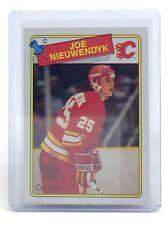 1988-89 Joe Nieuwendyk #16 Calgary Flames O-Pee-Chee Ice Hockey Card I009
