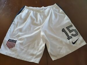 Nike USMNT CENTENNIAL OFFICIAL Game Shorts Worn By Michael Parkhust size L #15