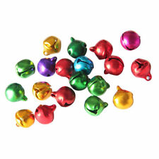 12 X 10 MM  BELLS TRADITIONAL CHRISTMAS  COLOURS 7 COLOURS AVAILABLE.