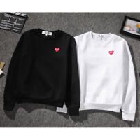 Comme Des Garcons CDG Play Men's pullover red heart Sweater Play Women Coat