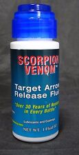 NEW SCORPION VENOM TARGET ARROW RELEASE FLUID/LUBE 1 fl.oz.