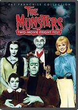 The Munsters - TWO MOVIE FRIGHT FEST DVD BRAND NEW