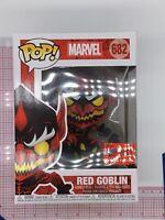 Funko POP! Marvel Red Goblin #682 NYCC 2020 Exclusive - Official Con Sticker O03