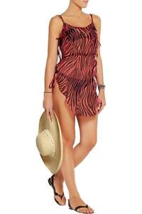 AGENT PROVOCATEUR GORGEOUS TORI TIGER BEACH COVER UP ROBE SIZE S/M UK6-8-10 BNWT