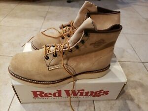 Red Wing Eric Clapton Classics 2001 Men's 11D New Suede Leather