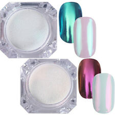 2Boxes 1G Nail Art Mirror Powder Dust Chrome Pigment Manicure Tips BORN PRETTY
