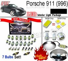 7 Lights Xenon LED SMD Interior Light Kit Porsche 911 996 Carrera Turbo Cabrio