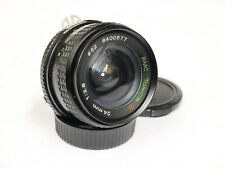 Tokina RMC 24mm F2.8 Nikon AI Mount Wide Angle Lens. Stock No u10782