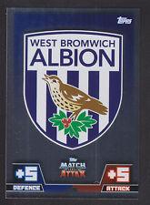 Match Attax 2014/2015 - Club Badge - 325 West Bromwich Albion