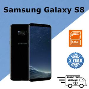 Samsung Galaxy S8 SM-G950U  64GB Black Nero smartphone (Sbloccato) Android Nuovo