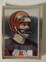 1982 Topps Football Sticker Ken Anderson Cincinnati Bengals Card
