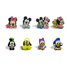 20PCS Mickey Fridge Blackboard Magnets DIY Refrigerator Stickers Kids Party Gift