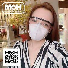 4x MOH Anti-Fog Protective Glasses Eye wear Safety Lab Dust Medical Adjustable