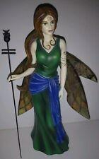 """Jessica Galbreth Patient Dragonsite Fairy Limit Ed Virgo 8"""" Statue Figurine"""