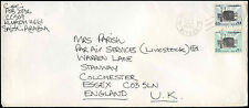 Saudi Arabia 1984 Commercial Airmail Cover To UK #C32524
